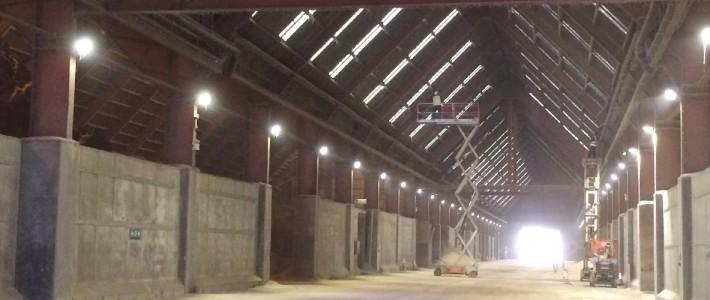 Lighting Services Portbury Dock