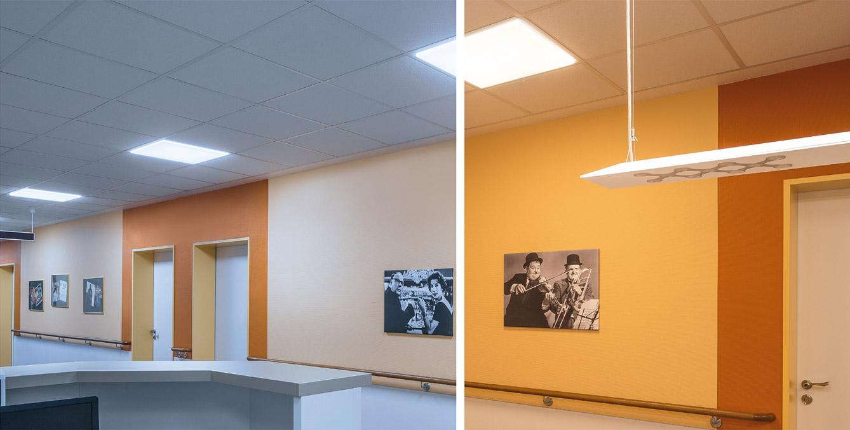 corridor lighting in care homes