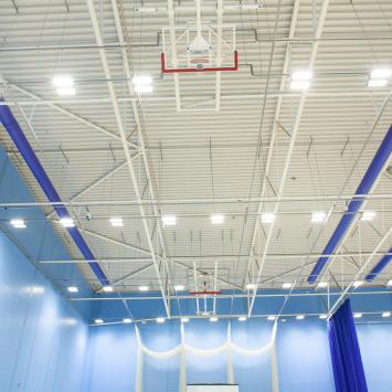UWE Centre for Sport Sports Hall Lighting LED
